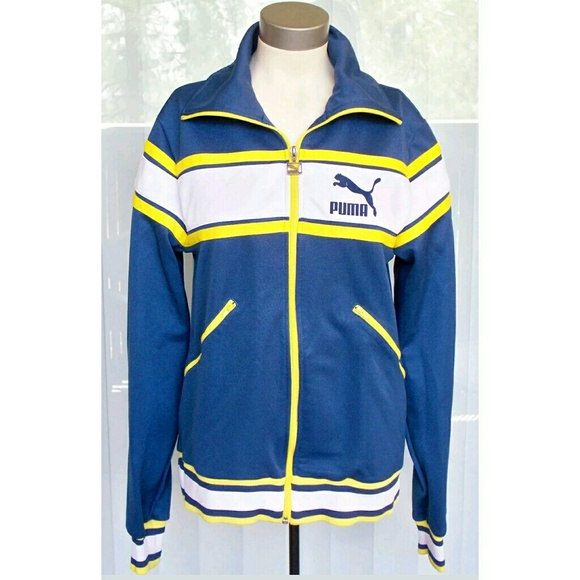 PUMA retro full zip front track jacket SAMPLE
